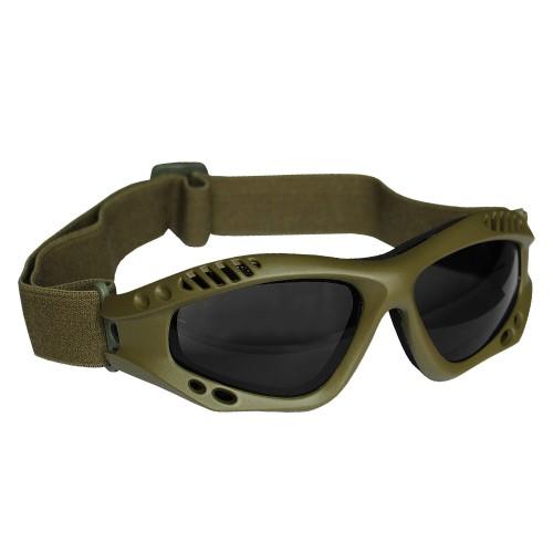 Mil-Tec Commando Brille Air Pro smoke