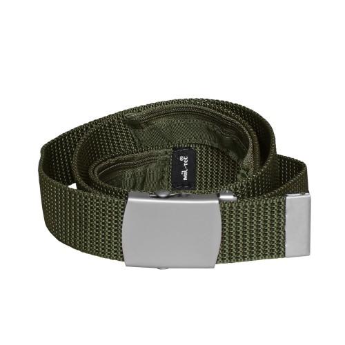 Geldgürtel Textil m. RV 30 - oliv