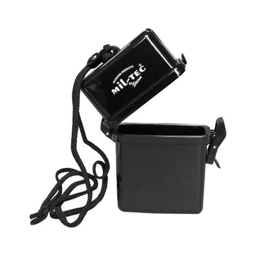 Transportbox wasserdicht m. Nackenband schwarz - schwarz
