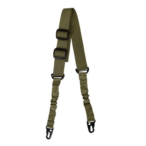 Mil-Tec Tactical Tragegurt m. Bungee 2-Point
