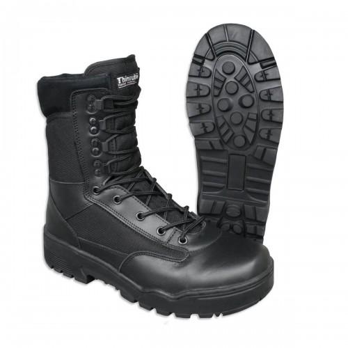 Tactical Stiefel Cordura - schwarz