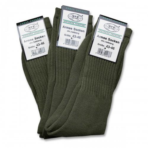 MFH Army Socke halblang 3er-Pack
