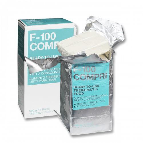Milchpulver Nahrungskonzentrat F-100 Compri