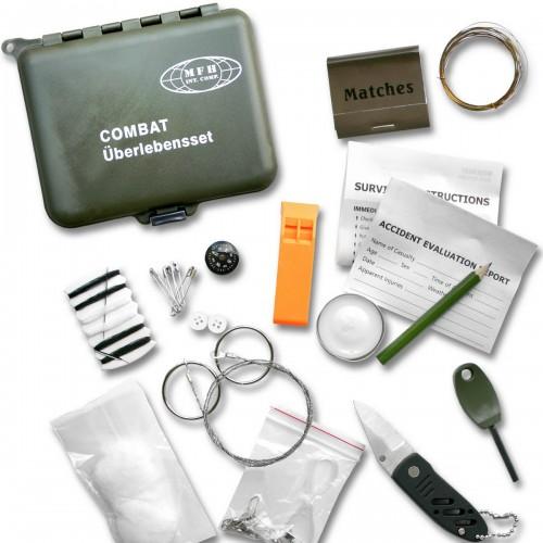 MFH Combat Überlebensset in Wasserdichter Box