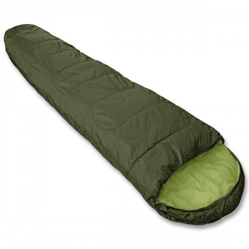 Mumienschlafsack mit Packsack - oliv