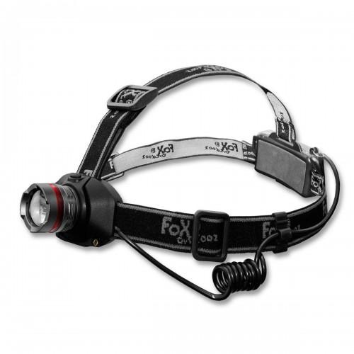 Fox Stirnlampe mit Focus 3 Watt LED