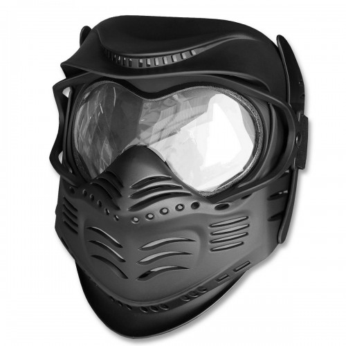 Paintball Schutzmaske schwarz - schwarz