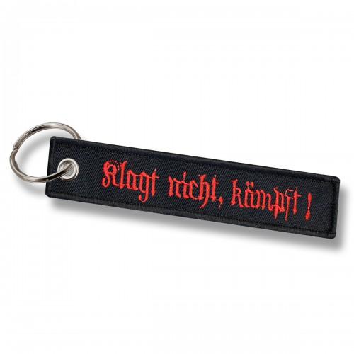 Mil-Tec Schlüsselanhänger Klagt Nicht Kämpft!