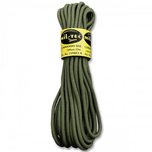 Commando Seil 15 Meter 9mm