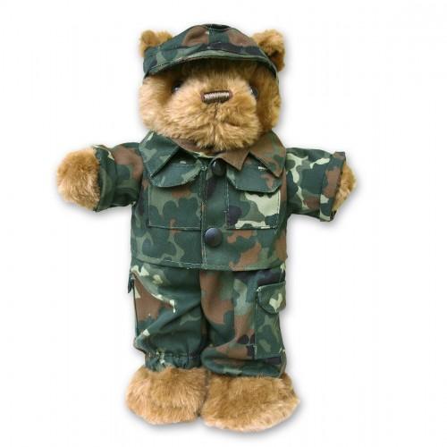 Mil-Tec Teddy klein mit Dienstbekleidung