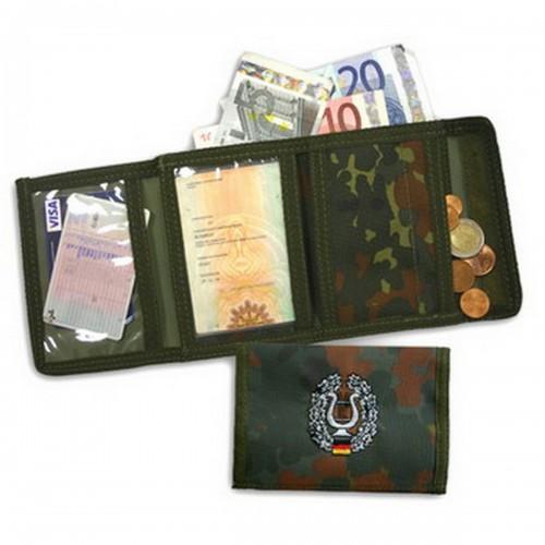 BW Geldbörse mit Truppengattung flecktarn