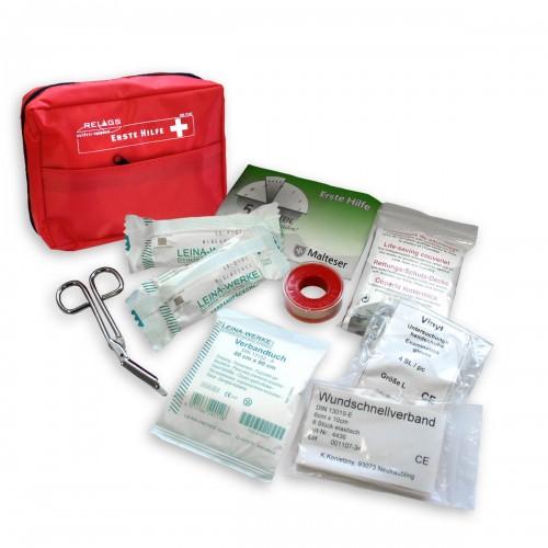 Erste Hilfe Set Plus - rot