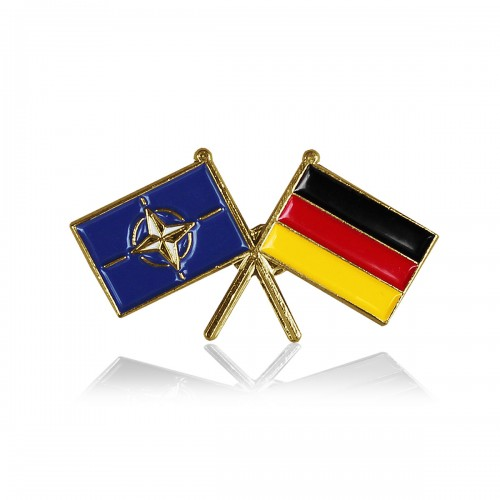 Mützenanstecker Flagge Nato / Deutschland
