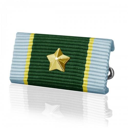 Ordensspange US Schießabzeichen m. Stern - gold