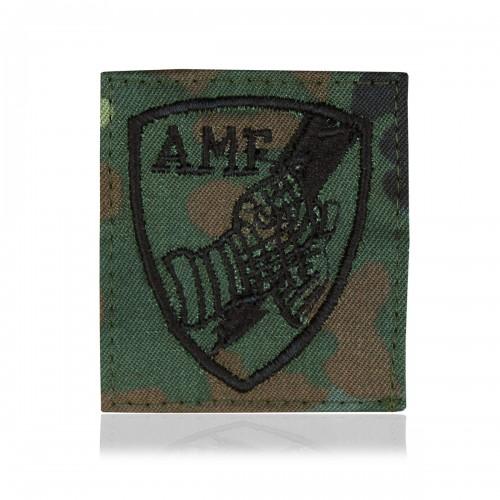 BW Abzeichen Textil AMF flecktarn - flecktarn