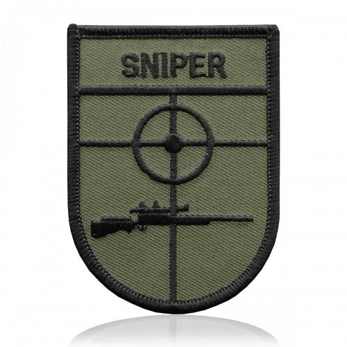 Abzeichen SNIPER Gewehr oliv