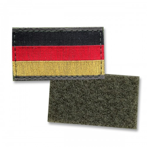 BW Deutschlandfahne klein mit Klett & Flausch bunt