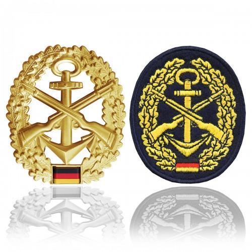 BW Barettabzeichen Marinesicherung