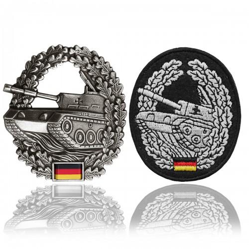 BW Barettabzeichen Panzertruppe