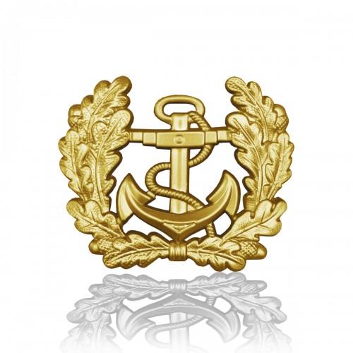 BW Mützenkranz Metall Marine