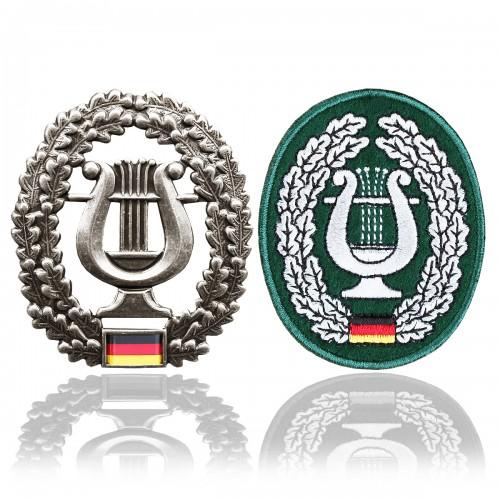 BW Barettabzeichen Musikkorps