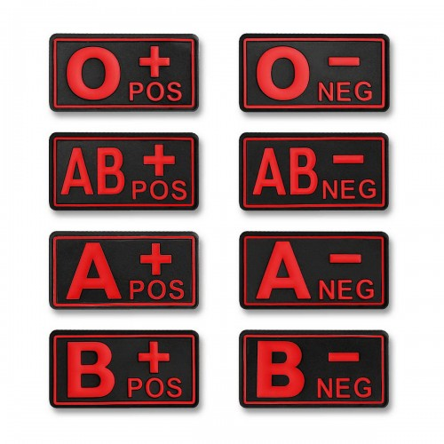 3-D Patch Blutgruppen