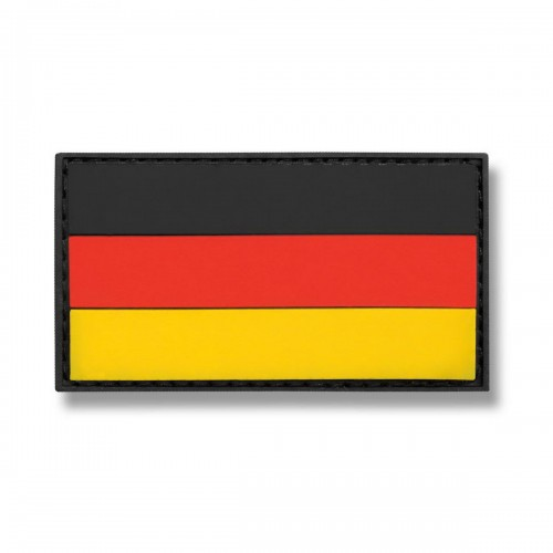 3-D Rubber Patch Flagge Deutschland