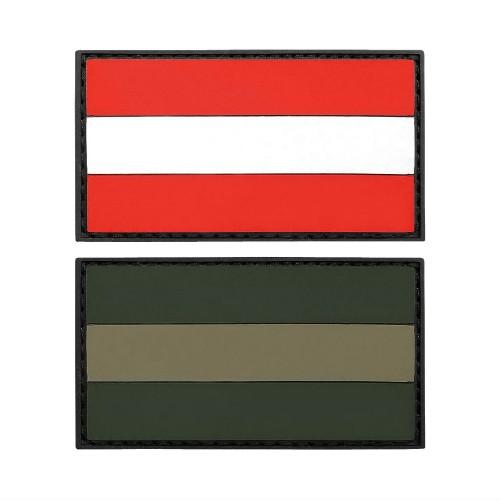 3-D Rubber Patch Flagge Österreich