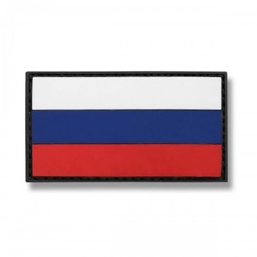 3-D Rubber Patch Flagge Russland