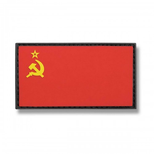 3-D Rubber Patch Flagge Sowjetunion