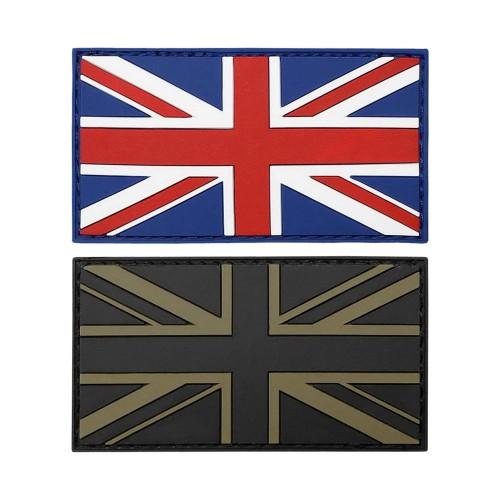 3-D Rubber Patch Flagge Großbritannien
