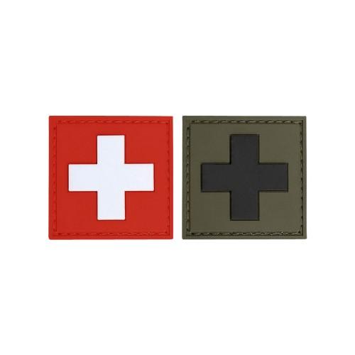 3-D Rubber Patch Flagge Schweiz
