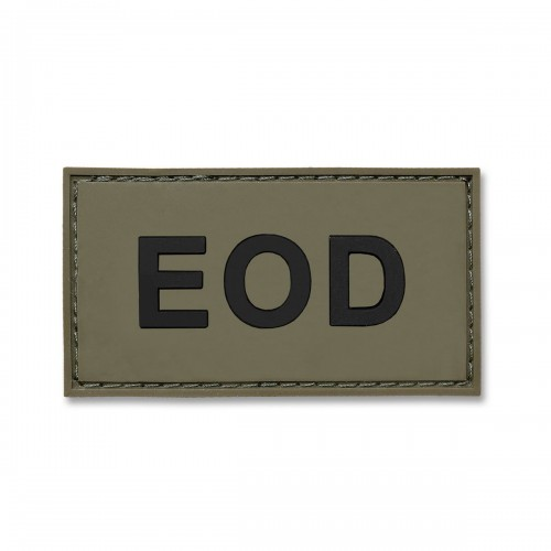 3-D Rubber Patch EOD oliv