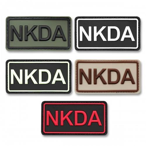 3-D Rubber Patch NKDA Abzeichen