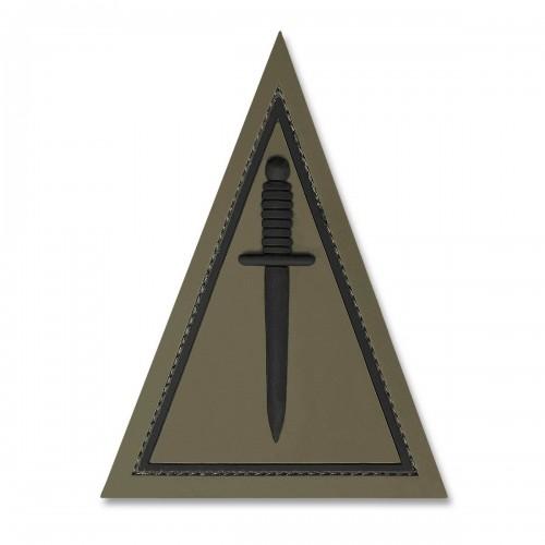 3-D Rubber Patch Jagdkommando oliv