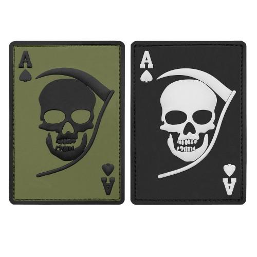 3-D Rubber Patch Death Ace