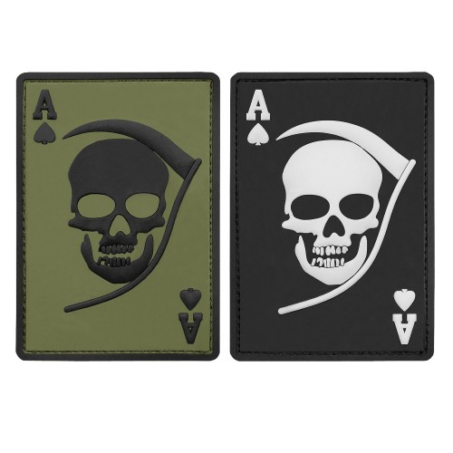 3-D Rubber Patch Death Ace