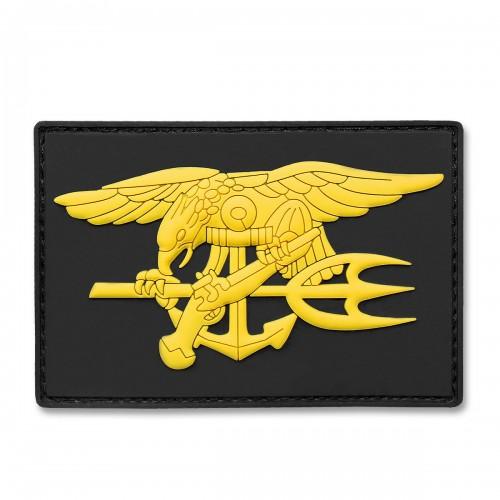 3-D Rubber Patch Navy Seal schwarz