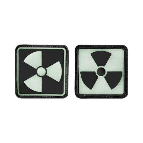 3-D Rubber Patch Radioaktiv