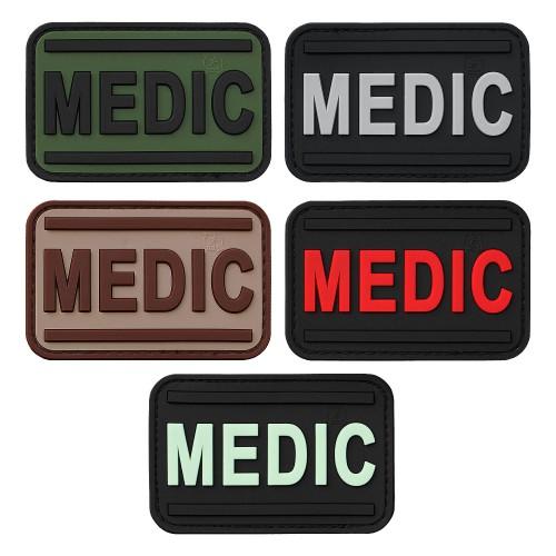 3-D Rubber Patch MEDIC Abzeichen
