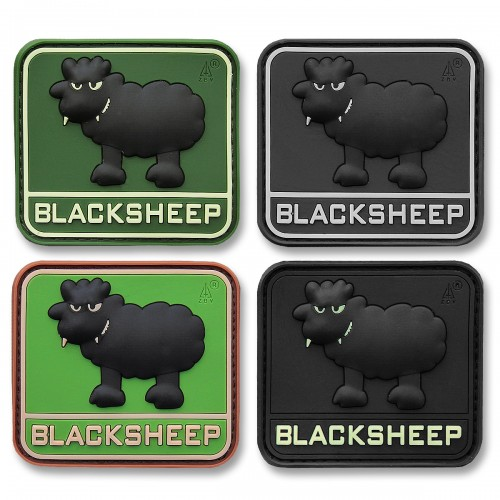 3-D Rubber Patch Blacksheep