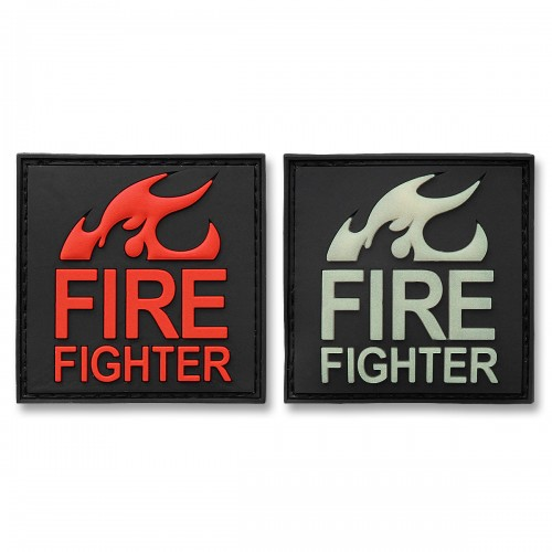 3-D Rubber Patch Fire Fighter