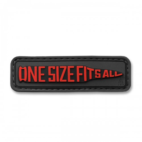 3-D Rubber Patch One Size Fits All