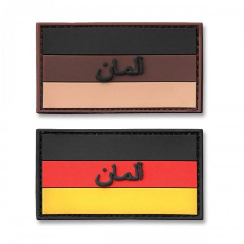 3-D Rubber Patch Deutschlandflagge persisch
