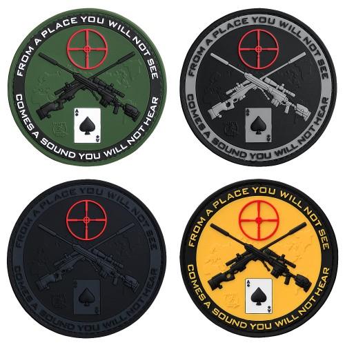 3-D Rubber Patch Sniper