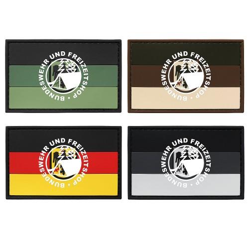 3-D Rubber Patch Flagge m. Adler groß
