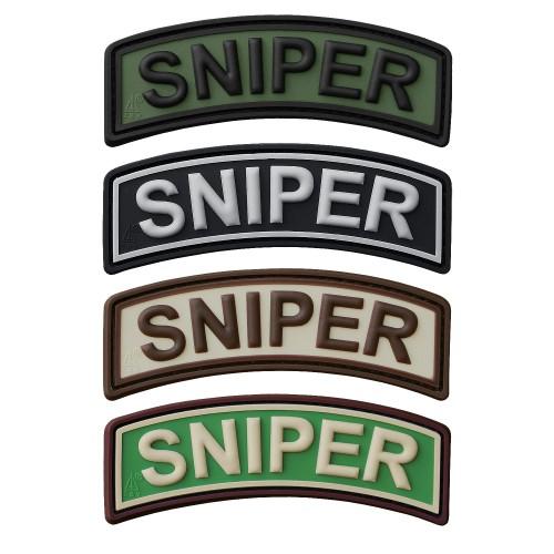 3-D Rubber Patch Sniper Tab (Sale)