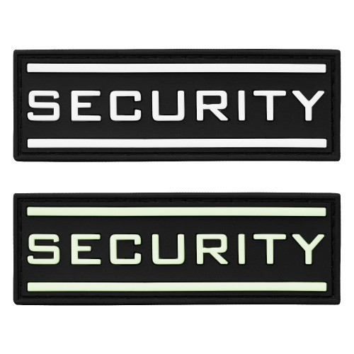 3-D Rubber Patch Security