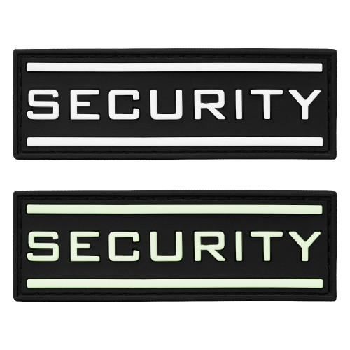 3-D Rubber Patch Security