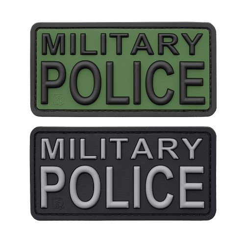 3-D Rubber Patch Military Police